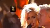 Lady Gaga & Metallica performance Moth Into Flame at 2017 Grammys