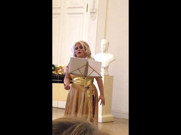 Марина Морозова сопрано - Танго Ревность Я.Годе