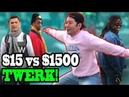 TWERKING in $30 Jeans vs $1500 Jeans!! - DANCING IN PUBLIC!!