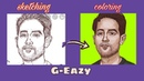 УМЕЮ РИСОВАТЬ [иногда] G-Eazy