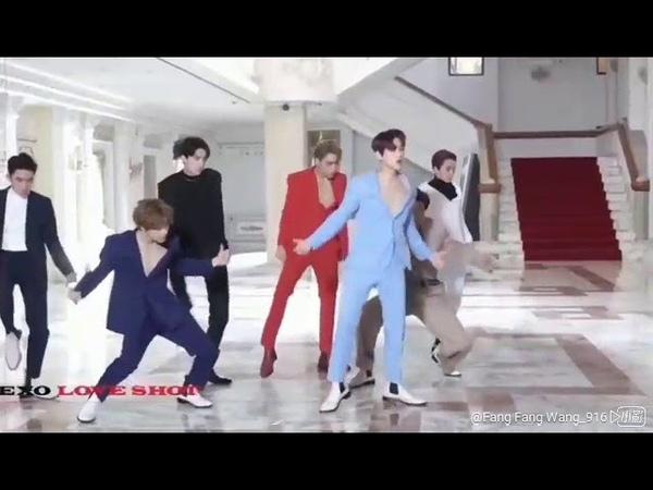 엑소 세훈 EXO SEHUN [Fancam] 18/12/14 EXO - Love Shot MV Behind The Scenes