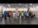 AFROLATINA SEVILLA DANCE 2014: Enah Lebon, men kizomba style workshop, learning