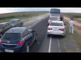 Авария под Астраханью!