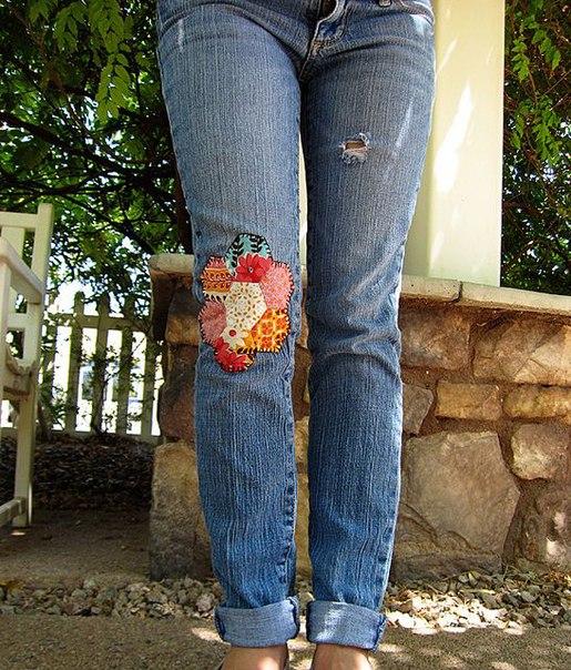 Декор джинсов доставка