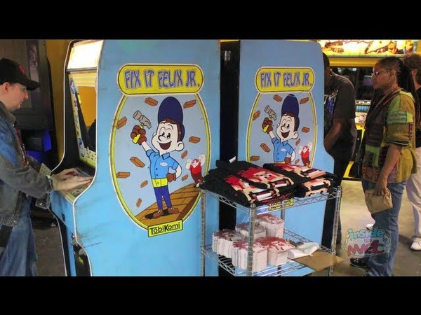Wreck-It Ralph real arcade game Fix-It Felix Jr for San Diego Comic-Con 2012