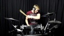 Joey Wojcik ft Britney Spears Scream and shout DRUM COVER