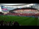 Перуанцы поют их полный стадион