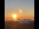 Восход на Гавайях