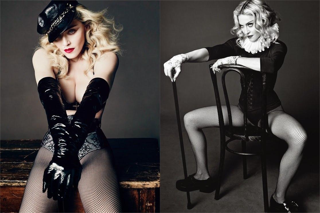 Мадонна для L'UOMO VOGUE MAY/JUNE 2014