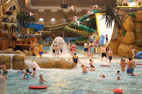 Туры выходного дня в аквапарк