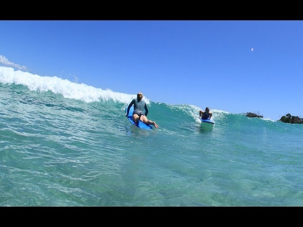 How To SURF How to easily paddle onto waves! Common Errors Corrections 23 -