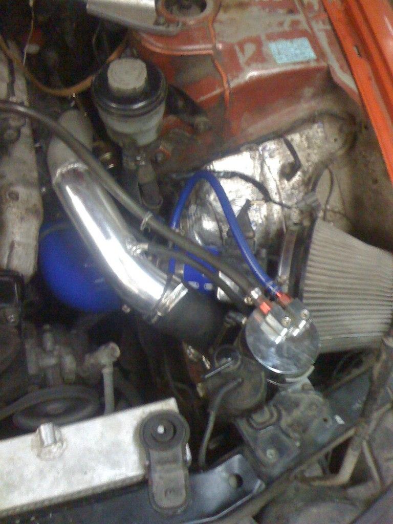 Классная игрушка) Я подключил ее еще на сток турбе и был удивлен тому, как ровненько заработал мотор.