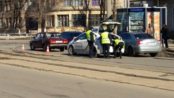 Автомобиль-фантом устроил аварию (ФОТО)