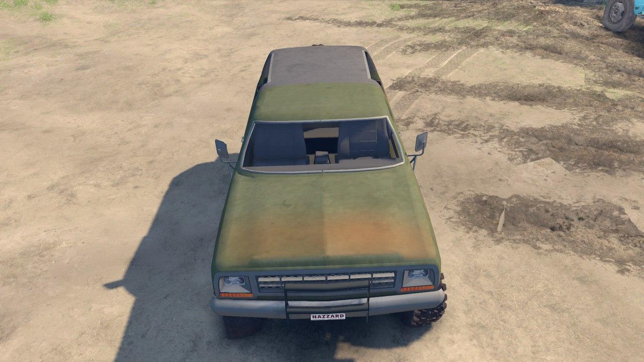 1985 Dodge RamCharger 0.1 для Spintires - Скриншот 2