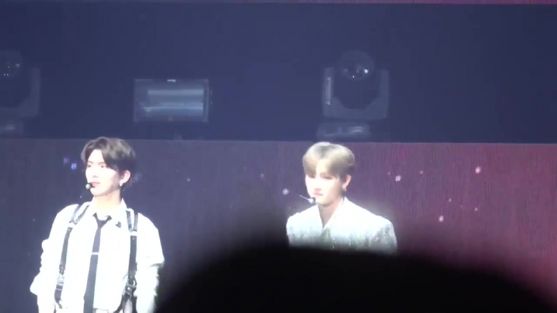 [VK][181005] MONSTA X fancam (I.M focus) Talk Time @ THE 2nd WORLD TOUR THE CONNECT in Chiba D-1