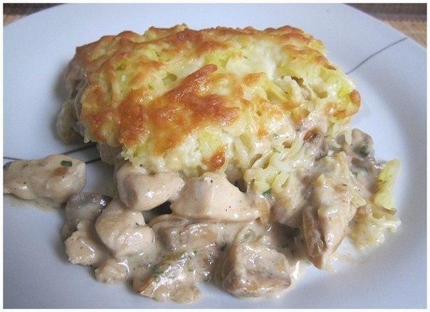 Что можно приготовить из картошки грудки куриной