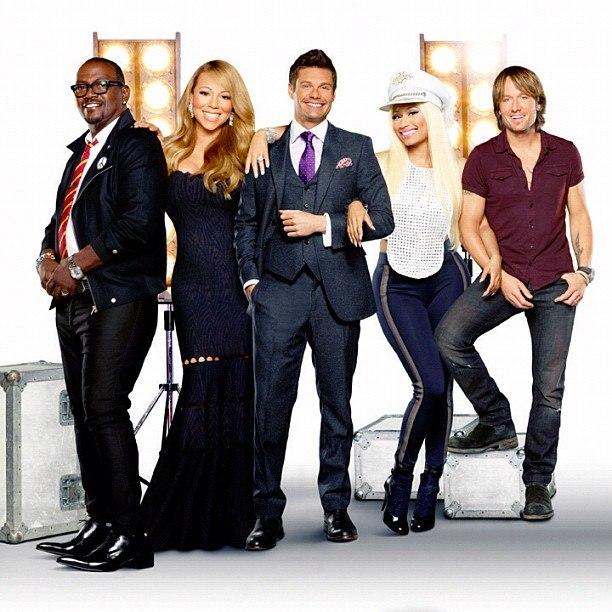 """Мэрайя на шоу """"American Idol"""" (2012 год) W92BjF5FinE"""