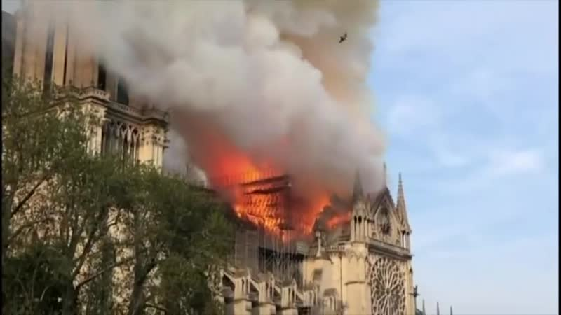 Notre Dame Cathedral suffers colossal damages