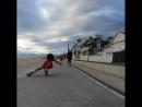 Просто прогулка на квадах по пляжу
