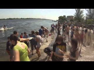 Большая Водная Битва в Херсоне 25.05.14 (Лучшее качество)