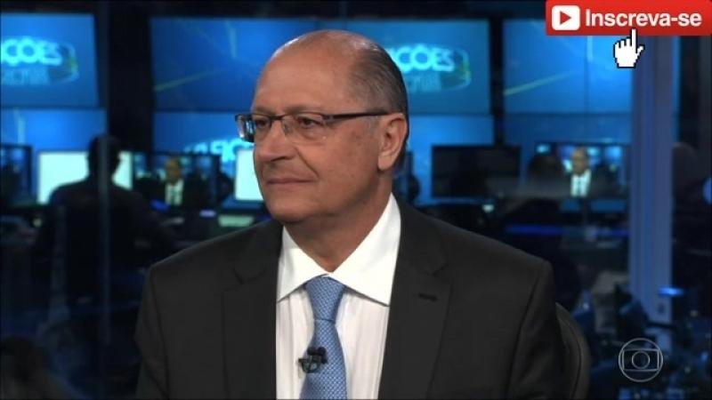 Geraldo Alckmin (PSDB) no Jornal Nacional - 2908