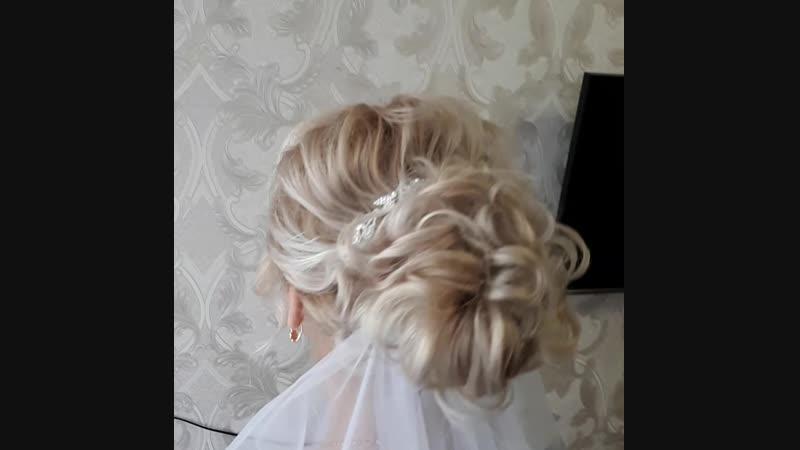 Свадебная прическа для Наталии смотреть онлайн без регистрации