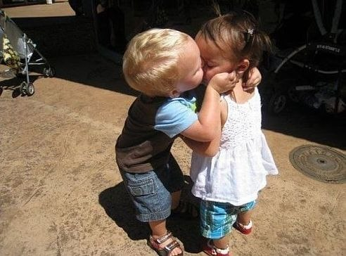 Все таки я тебя поцелую. Невозможно сдержаться