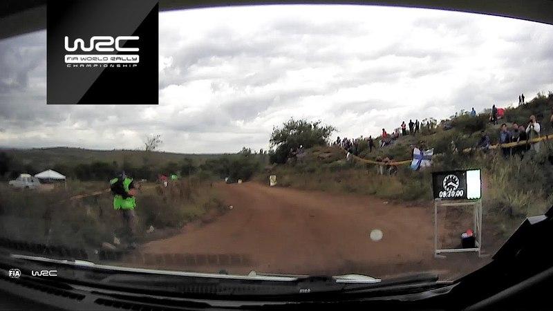 WRC. Ралли Аргентины-2018. Шейкдаун. Онборд Латвалы