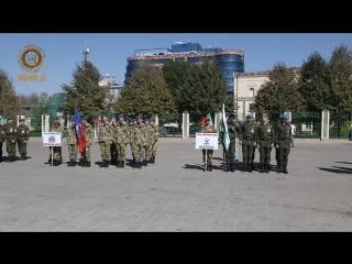 """Торжественное открытие первой военно-патриотической игры """"Наша сила в единстве!"""""""
