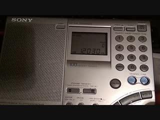 Radio Exterior de Espana 12030 khz