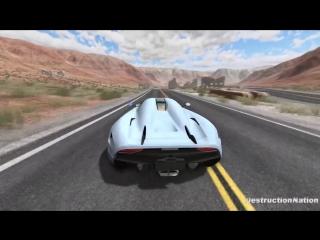 [DestructionNation] Out Of Control Crashes #6 - BeamNG Drive Crash Compilation