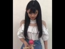 Nakagawa Mion playing kendama