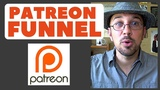 Patreon Funnel For Patron Acquisition For Musicians Singer-Songwriter Kev Rowe