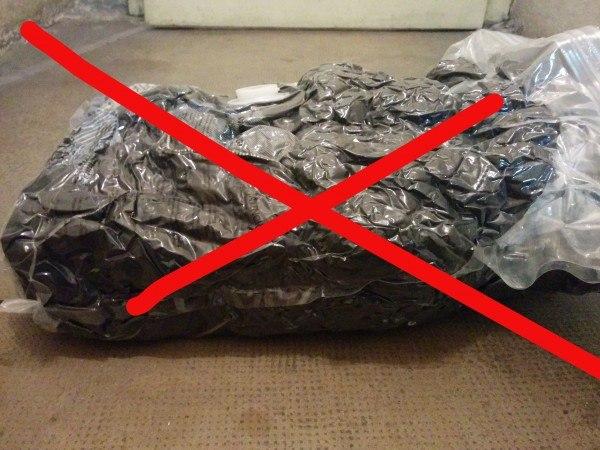 Используйте вакуумные пакеты правильно!