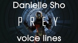 [Prey] All voice lines for Danielle Sho
