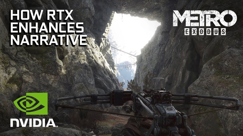 How RTX is a Natural Fit for Metro Exodus Narrative