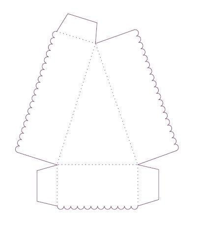 Коробочка для подарка своими руками шаблон