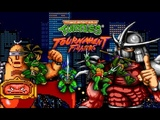 M.U.G.E.N TMNT: Tournament Fighters NES Remake (PC) - Gameplay + Download Link