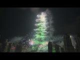 Новогодний фейерверк с Бурдж Халифа в Дубае 2013. 01 01 2014 HD 1080