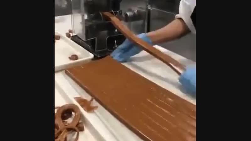 Изготовление ирисок