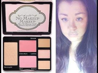 Палетка TOO FACED:макияж без макияжа:РОЗОВОЩЕКОЕ СОЗДАНИЕ