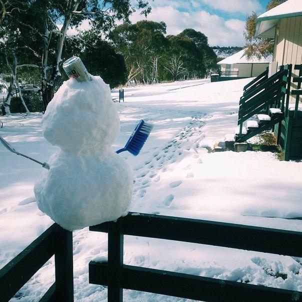 Тем временем в Австралии 1 июня официально началась зима. Началась как положено,...