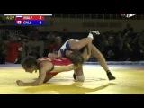 ЧМ 2014 53кг Финал 3-5 Малышева(Россия) - Галлайс(Канада)