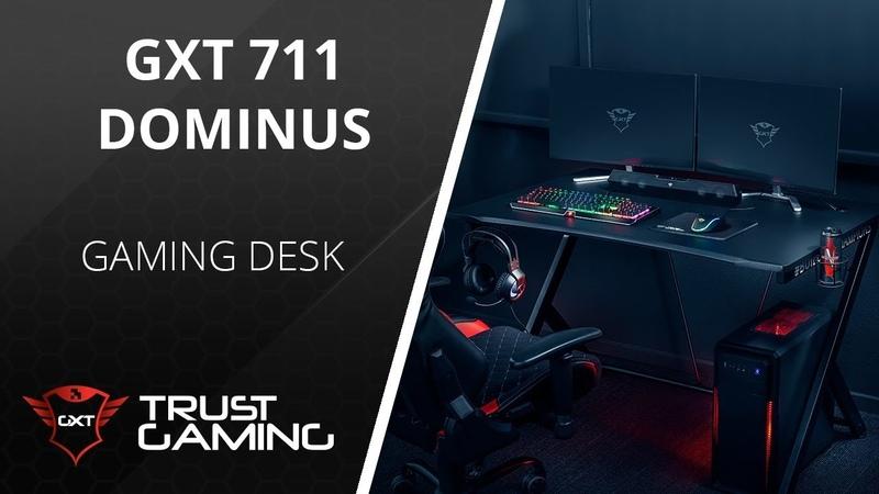 Твой лучший сетап вместе с GXT 711 Dominus Gaming Desk