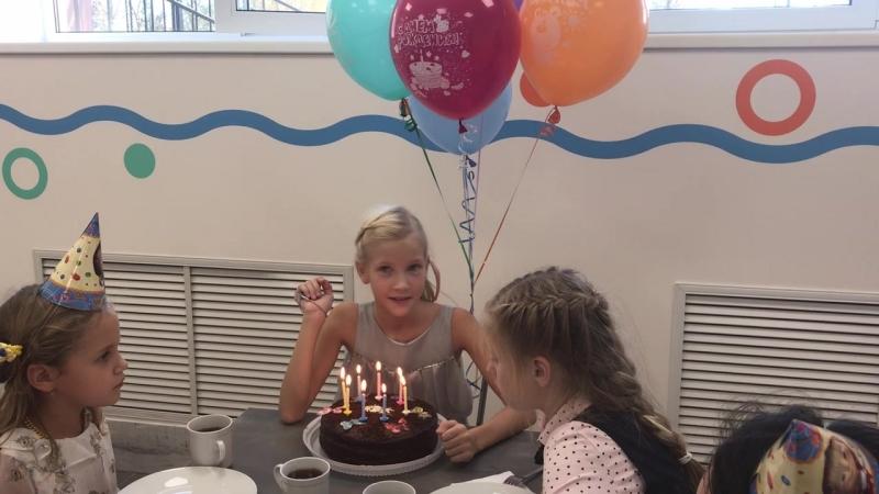 День рождения нашей гимназистки Кати 🎉🎂🎈