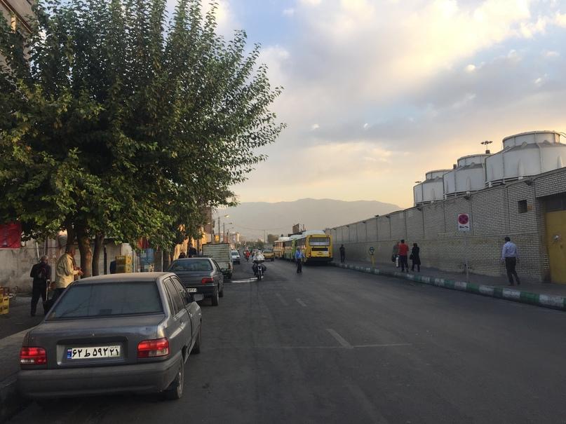 Обычное утро в Тегеране. Путешествие в Иран