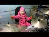 Варвара барабанщица 2 (2,1 года)