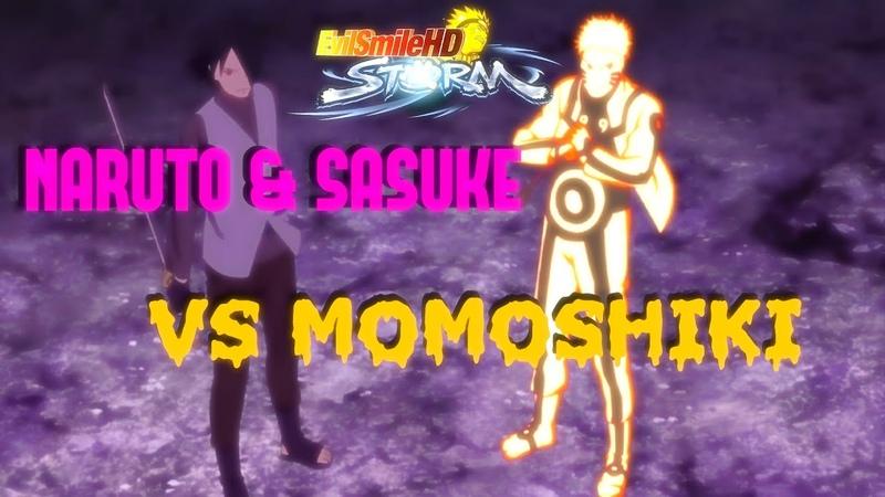 NARUTO SASUKE vs MOMOSHIKI   BORUTO THE MOVIE【1080p 60FPS】