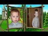 Шаблон для детских фотографий (можно на день рождения)