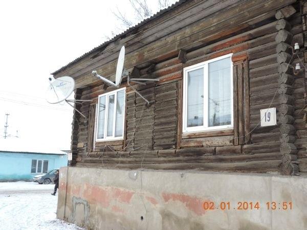 старый дом сновыми окнами